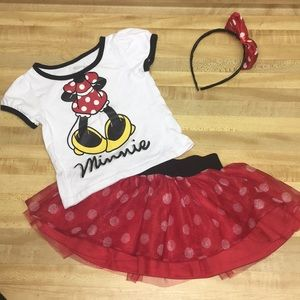 Double Cute, like new Minnie Mouse Outfit